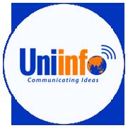 Uniinfo Communicating Ideas logo