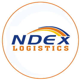 NDEX LOGISTICS logo