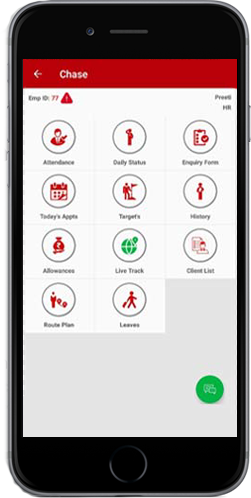 Employee Tracking App Features