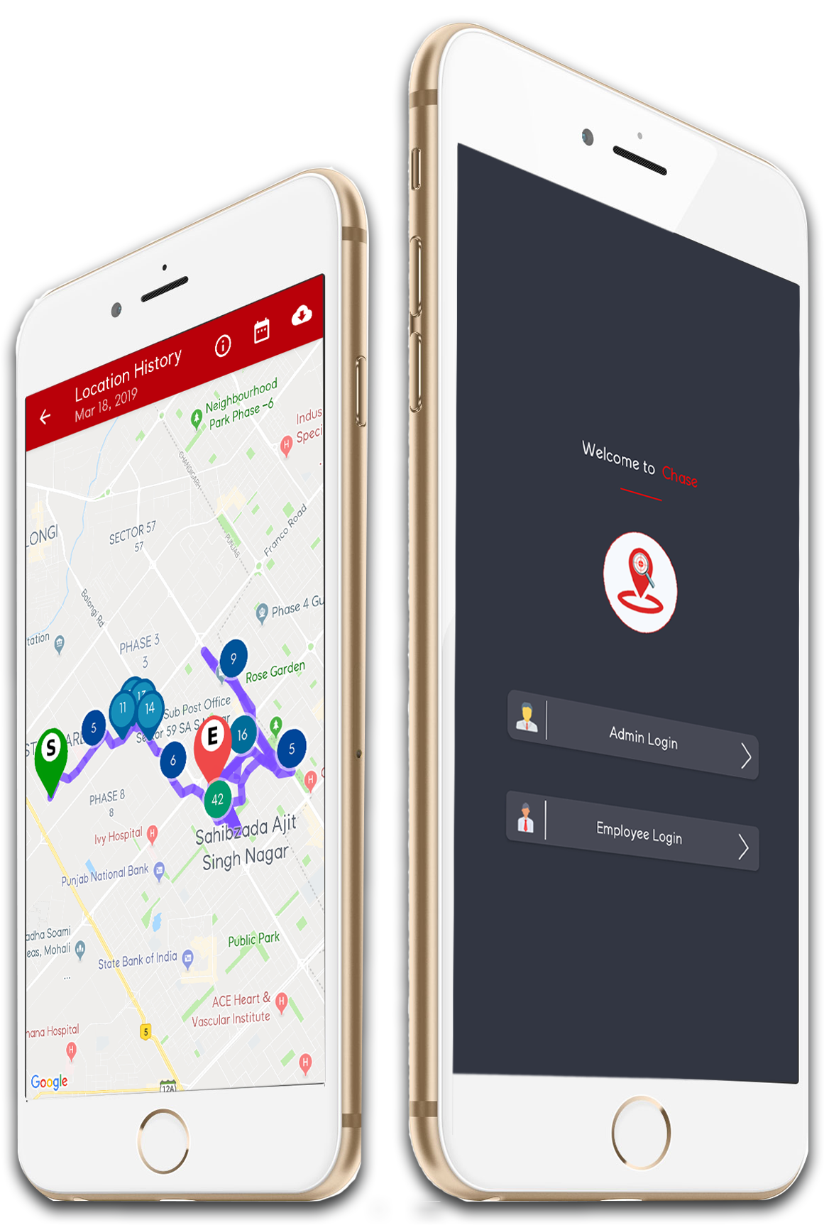 Download Employee Tracking App